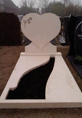 Grafsteen Belgisch hardsteen
