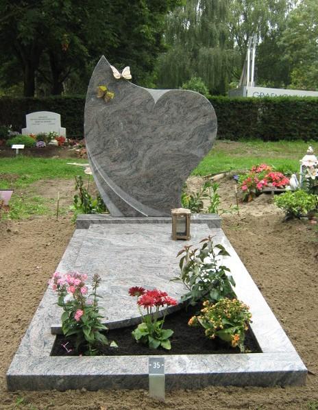 Grafsteen graniet