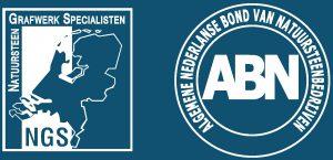 ABN natuursteenbond en NGS logo