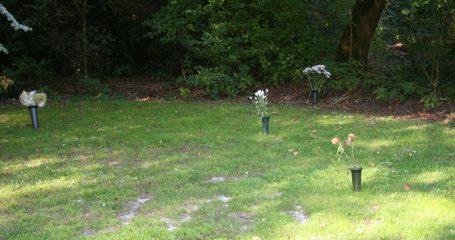 as verstrooien op begraafplaats of crematorium