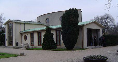 Aula De nieuwe Ooster begraafplaats Amsterdam