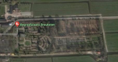 Algemene begraafplaats Breukelen overzichtsfoto
