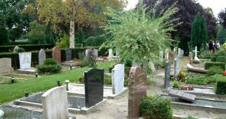 Sfeerfoto begraafplaats Brandenburg Bilthoven