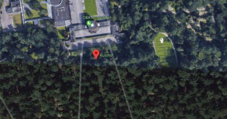 Bovenaanzicht begraafplaats Amersfoort Rusthof