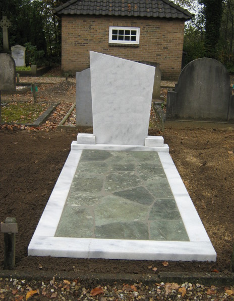 Grafsteen marmer