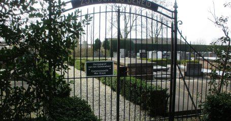 Ingang Nederlandse Hervormde begraafplaats Benschop