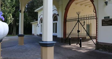 Ingang algemene begraafplaats Baarn