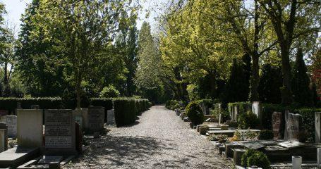 Sfeerfoto Begraafplaats Vredenhof Amsterdam
