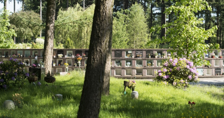Urnenmuur Columbarium begraafplaats Amersfoort Rusthof