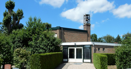 Voorzijde algemene begraafplaats Breukelen