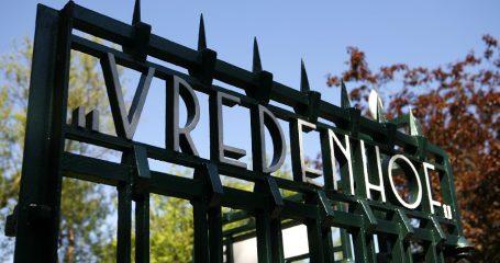 Ingang begraafplaats Vredenhof Amsterdam