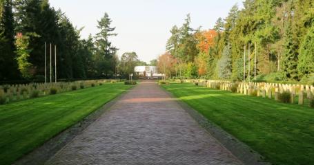 Sfeerfoto begraafplaats Amersfoort Rusthof