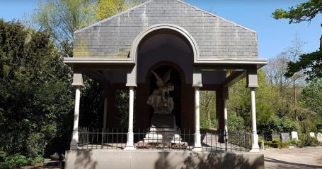 Sfeerfoto begraafplaats Amsterdam Zorgvlied