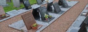 Overzicht urnengraven